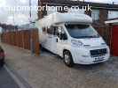 Swift Sundance 644SD. 63 Plate. 4 Berth.