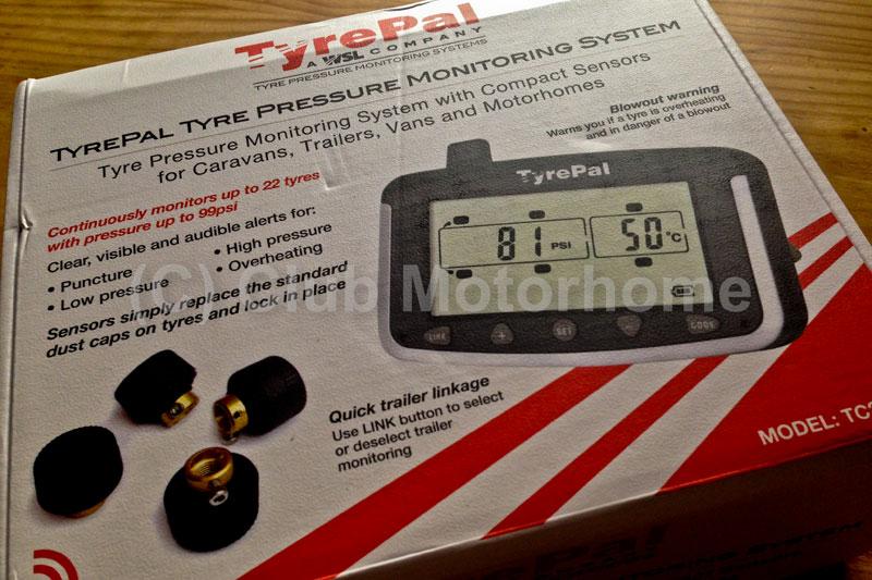 Tyrepal tc215b caravan and motorhome tyre pressure monitor for Motor club company reviews