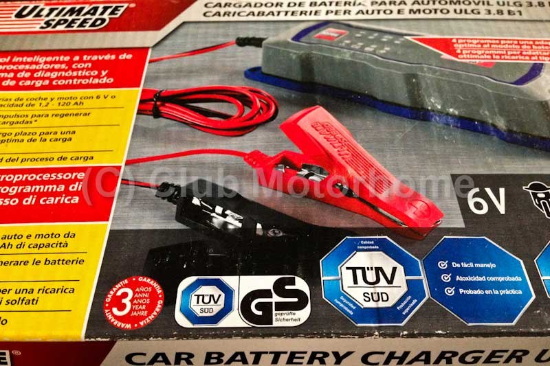 Car Battery Charger Reviews >> Ultimate Speed Intelligent Battery Charger Review Club Motorhome