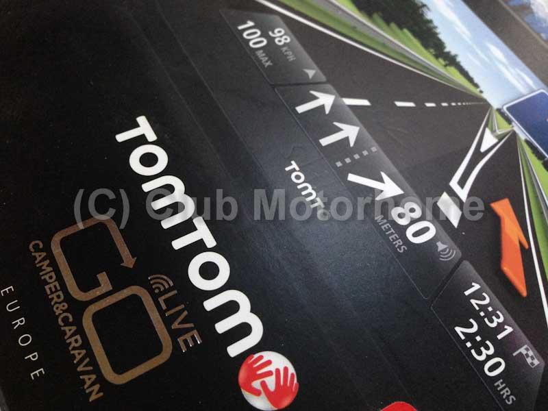 Tomtom go live camper caravan review club motorhome for Motor club company reviews