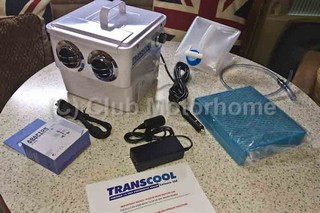 TRANSCOOL Portable 12/24/240V Evaporative cooler review