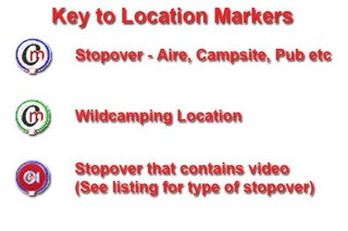 Key to Map Markers