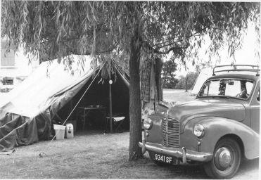 Tent & Car Lac Lemon Switzerland
