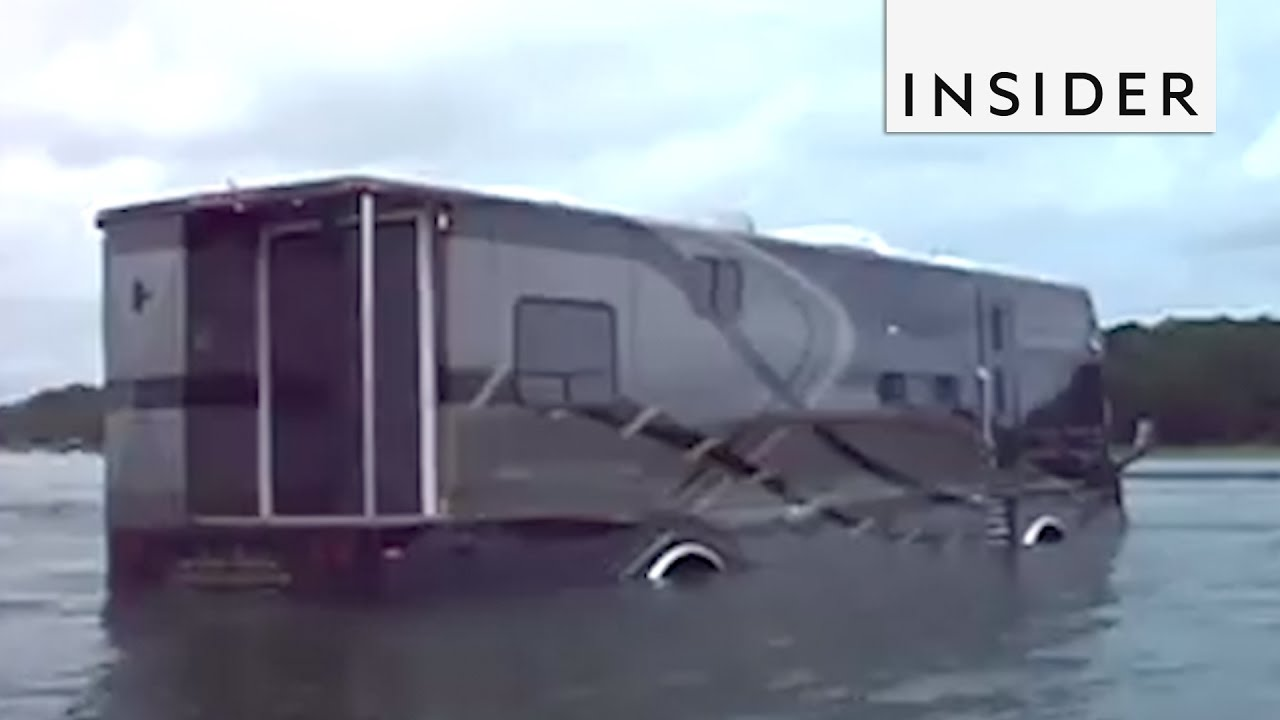 The RV Boat and Other Floating Vehicles